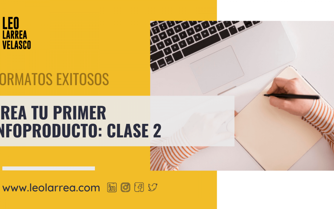 Infoproductos clase 2